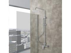 Colonna doccia a parete con doccettaLONDRA - WEISS-STERN