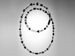 Collana in resina LONG STONES | Collana - CORSI DESIGN FACTORY