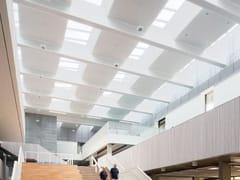 Velux Commercial, LONGLIGHT 5-30° Finestra da tetto in acciaio e vetro