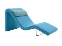 Chaise longue imbottitaLONGWAY O - SEGIS