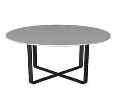 Tavolino rotondo in laminato LONGWAY | Tavolino rotondo - Longway