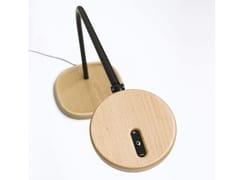 Lampada da scrivania a LED orientabile in legno LOOLA WOOD - Loola