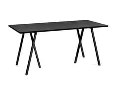 Tavolo rettangolareLOOP STAND | Tavolo rettangolare - HAY