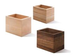 Contenitore in legnoLOOPHOLES | Contenitore in legno - ATELIER BELGE