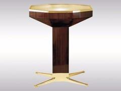 Tavolo in legno ottone e vetroLOOS AMERICAN BAR - WOKA LAMPS VIENNA