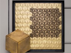 DE CASTELLI, LOSANGA Mosaico in metallo