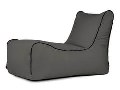 Dormeuse da giardino imbottita in poliestereLOUNGE ZIP COLORIN | Chaise longue - PUSKU PUSKU