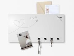 Lavagnetta magnetica con porta lettereLOVE MAIL - DESIGNOBJECT.IT