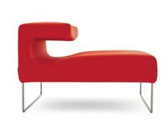 Chaise longue imbottitaLOWSEAT   Chaise longue - MOROSO