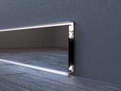 Battiscopa in alluminio con LED LUCEO BASIC -