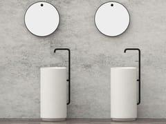 Lavabo freestanding rotondo con rubinetto integratoLUCKY 7 | Lavabo - JUSTIME