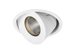 Faretto a LED orientabile in alluminio da incassoLUCY MAX - LED BCN LIGHTING SOLUTIONS