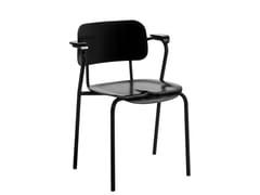 Sedia impilabile con braccioliLUKKI | Sedia - ARTEK