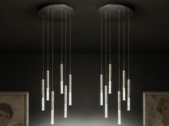 Lampada a sospensione a LED a luce diretta in vetroLUMIERALED X6 RIGOLETTO - ALBUM ITALIA