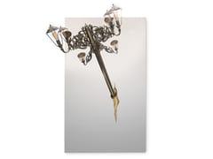 Specchio rettangolare con illuminazione integrata da pareteLUMIERE RECTANGULAR | Specchio - BOCA DO LOBO