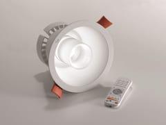 Lampada da soffitto a LED in alluminio a incassoLUNA - AILATI LIGHTS BY ZAFFERANO