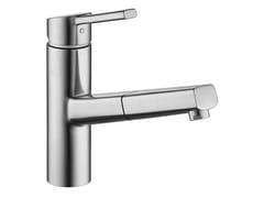 Miscelatore da cucina in acciaio inox con doccetta estraibileLUNA E 10.441.113.700FL - FRANKE WATER SYSTEMS