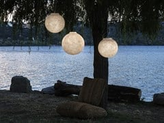 Lampada a sospensione per esterno a LED in Nebulite®LUNA OUT - IN-ES.ARTDESIGN