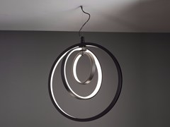 Lampada a sospensione a LED LUNAOP | Lampada a sospensione in alluminio - Lunaop