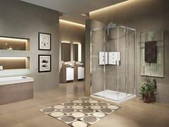 Box doccia angolare con porta scorrevoleLUNES 2.0 | AH - NOVELLINI