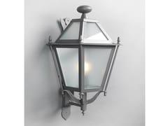 Lampada da parete per esterno in ferroLUNGARNO | Lampada da parete per esterno a luce indiretta - OFFICINACIANI DI CATERINA CIANI & CO.