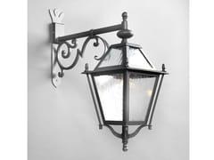Lampada da parete per esterno a luce diretta in ferroLUNGARNO | Lampada da parete per esterno - OFFICINACIANI DI CATERINA CIANI & CO.