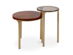 Tavolino rotondo in ottoneLURAY - BRABBU DESIGN FORCES