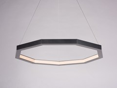 Lampada a sospensione a LED a luce diretta in alluminio LUXENNEA SERIES 2 -