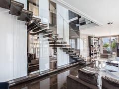 Scala a giorno in marmoLUXO STONE - OFFICINE SANDRINI