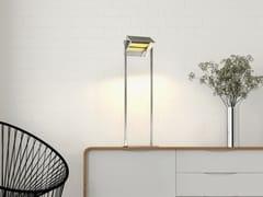 LAMPADA DA SCRIVANIA A LED ORIENTABILE IN OTTONELUXUS - BETEC® LICHT