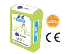 Intonaco fibrorinforzato a base di calce naturaleLW 100 - MALVIN