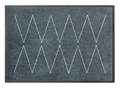Tappeto rettangolare in materiale riciclatoLYN GREY - HEYMAT AS