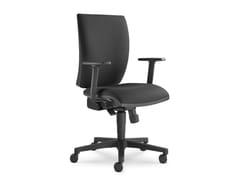 Sedia ufficio imbottita in tessutoLYRA 207-SY - LD SEATING