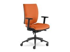 Sedia ufficio imbottita in tessutoLYRA 235-AT - LD SEATING