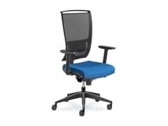 Sedia ufficio imbottita in tessutoLYRA NET 200-AT - LD SEATING