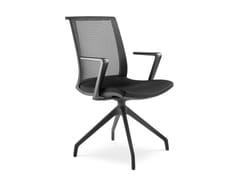 Sedia ufficio imbottita in tessutoLYRA NET 203 F90-BL - LD SEATING
