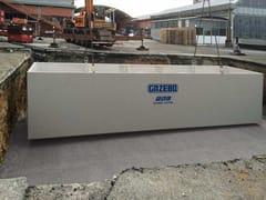 Vasca monoblocco prefabbricata in C.A.Vasche di grandi dimensioni - GAZEBO