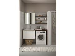 Mobile lavanderia con cassetti per lavatriceMobile lavanderia con cassetti - ARBLU