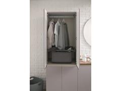 Mobile lavanderia con lavatoio per lavatriceMobile lavanderia con ante a battente - ARBLU