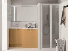ARBLU, Mobile lavanderia con ante a battente Mobile lavanderia con ante a battente per lavatrice