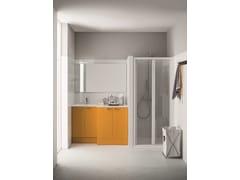 Mobile lavanderia con ante a battente per lavatriceMobile lavanderia con ante a battente - ARBLU