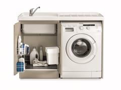 Mobile lavanderia con lavatoio per lavatriceMobile lavanderia per lavatrice - BIREX