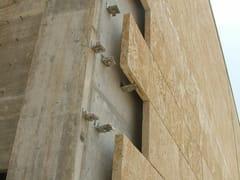 Facciata ventilata in pietra lecceseFacciata ventilata in pietra leccese - PIMAR