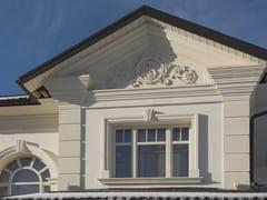 Cornice per facciata in pietra lecceseCornice per facciata in pietra leccese - PIMAR