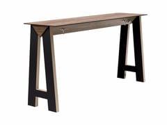 Tavolo alto rettangolare con prese elettriche LINK 505 - Link & Low Link