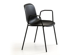 Sedia da giardino impilabile con braccioliMÁNI PLASTIC AR-4L | Sedia con braccioli - ARRMET