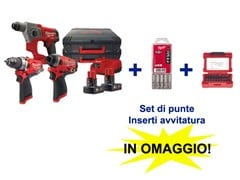 Tris Trapano + Tassellatore + AvvitatoreM12FPP3A-602X - ICOS