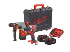 Set Trapano a percussione e tassellatore a batteria M18 PP2D-402C - MILWAUKEE ELECTRIC TOOL CORPORATION