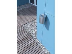 Posacenere per spazi pubblici da parete in acciaio inoxM2 - CITY DESIGN