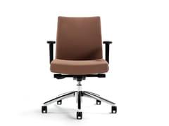 Sedia ufficio operativa girevole in tessuto M2   Sedia ufficio operativa in tessuto - M2